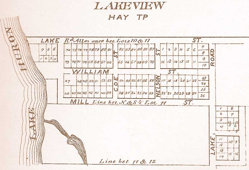 Village of Lakeview Town Site Plan