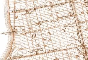 Hay Township Map 1879