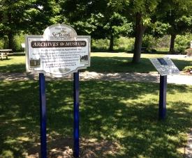 Archive sign park_s